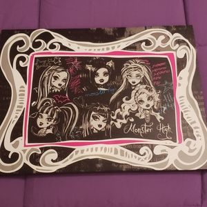 Monster High Wall Canvas